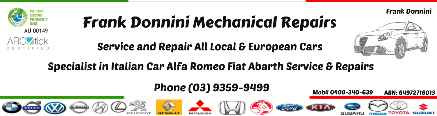 Frank Donnini Mechanical Repairs Header Frank Donnini