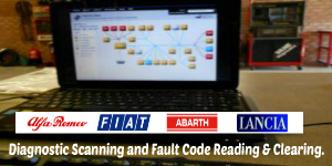 Diagnostic Scanning and Fault Code Reading & Clearing.