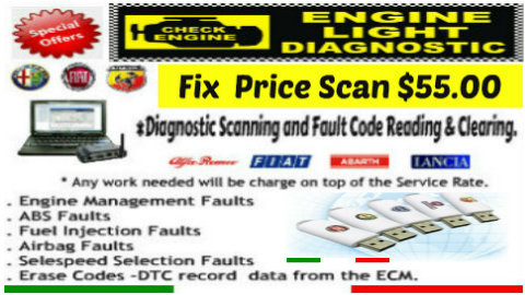 fix price alfa romeo scanning