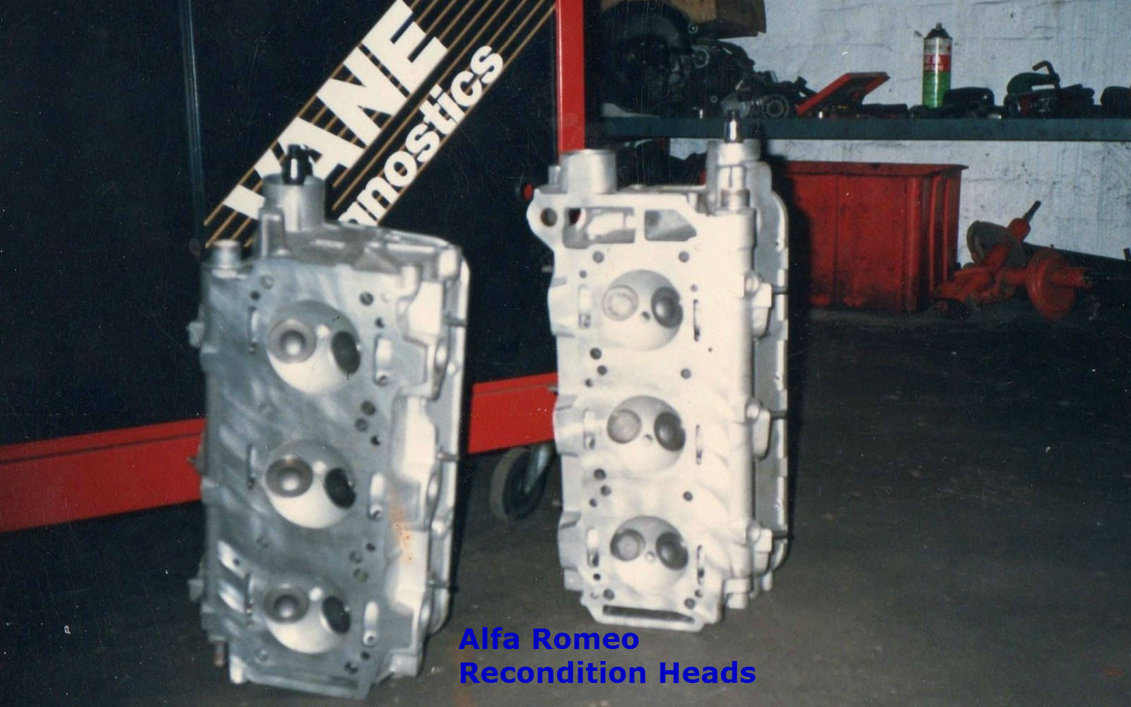 Our Work Alfa Romeo GTV V6 Recondition Motor