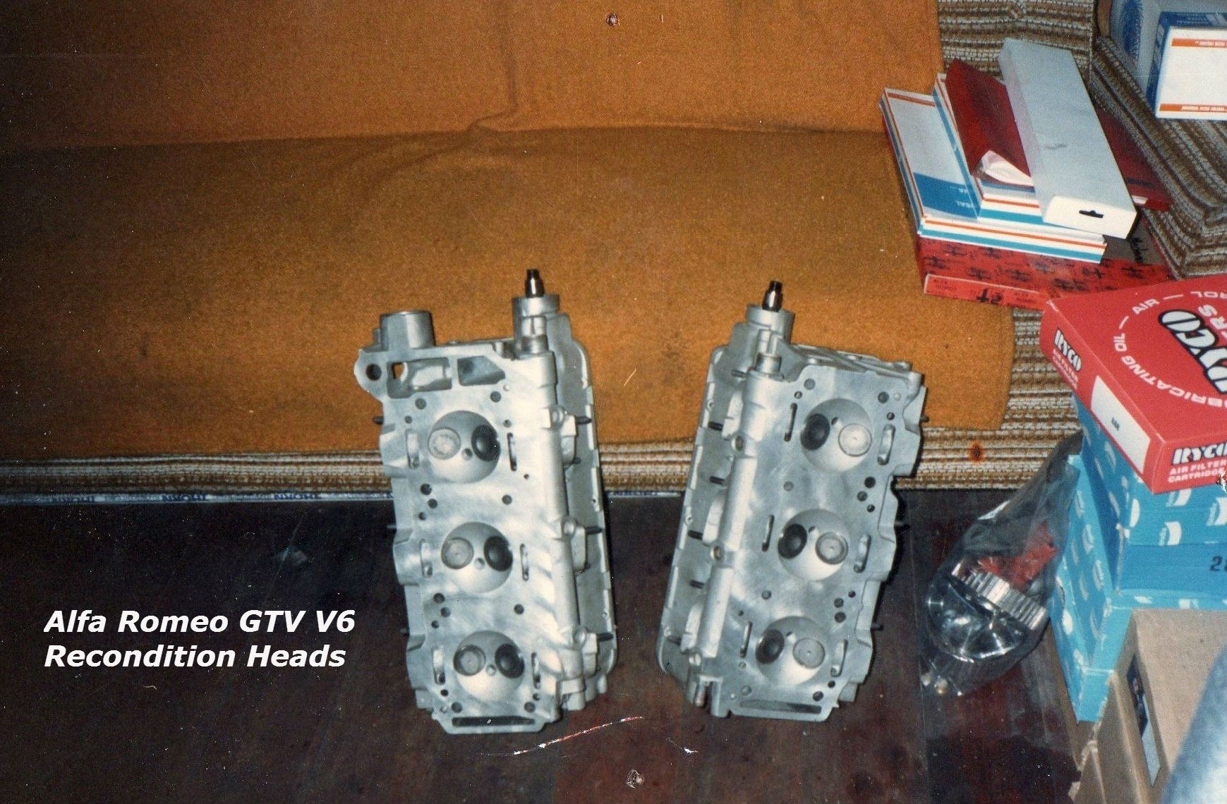 Alfa Romeo GTV V6 Recondition Heads